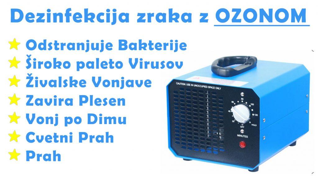Generator ozona 10000mg na uro o3 ozon