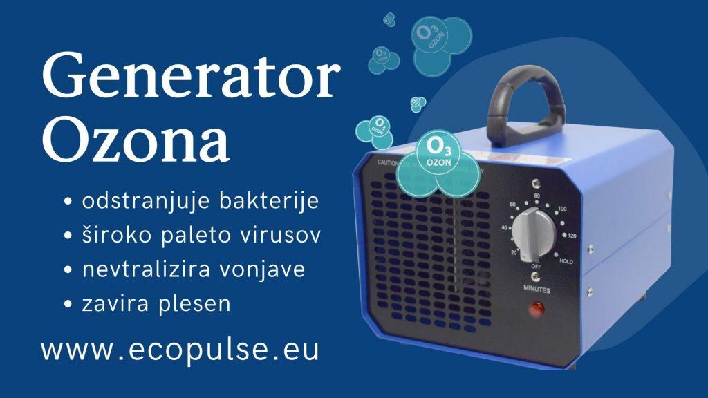 Generator ozona neprijetne vonjave in plesen