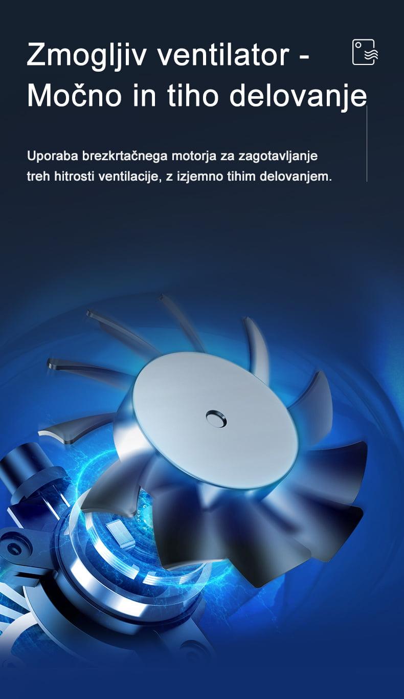 ionizator in čistilec zraka ECOpulse line